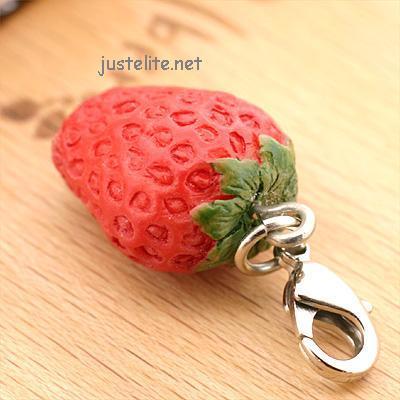 fruit cellphone straps