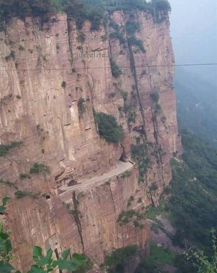 Beautiful and dangerous road