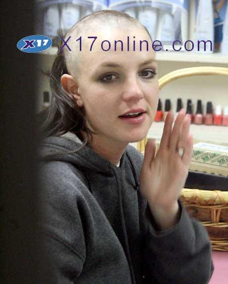 Britney Goes Bald