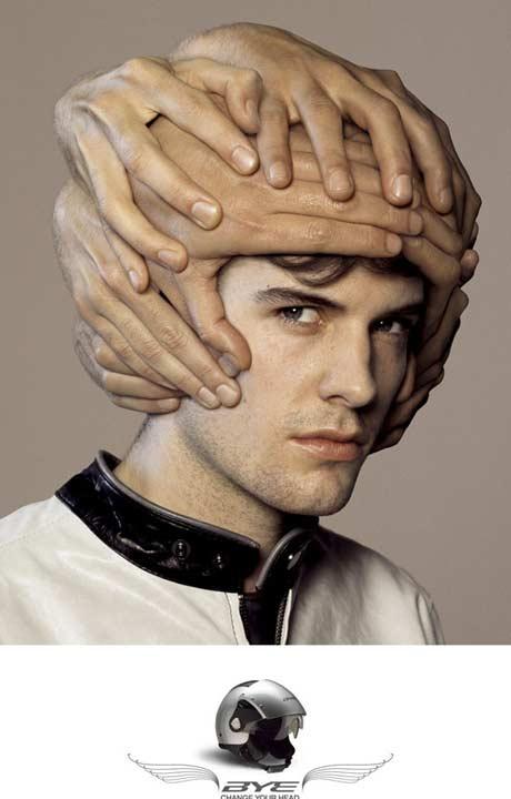 Helmet ad