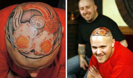 Head tatoo