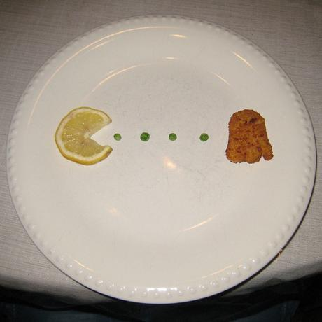 Pacman in my plate