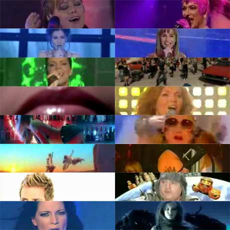 Eurovision Song Contest 2007 entries