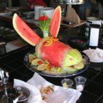 Donkey food decoration