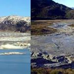 Amazing! 100-foot deep Andes lake disappears