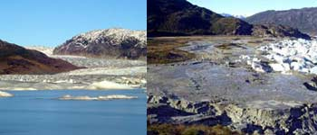100-foot deep Andes lake disappears