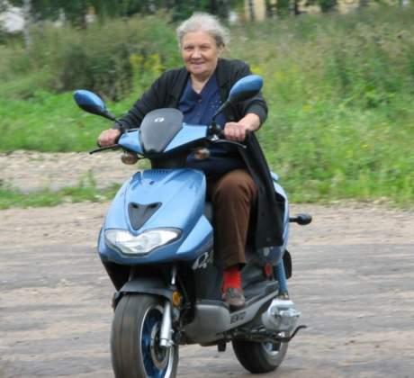 Moto granny