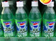 Pepsi Cucumber