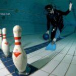 underwater bowling