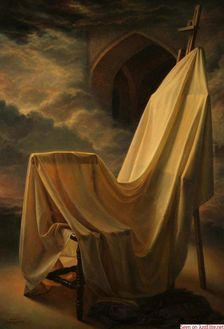 Painting by Iman Maleki