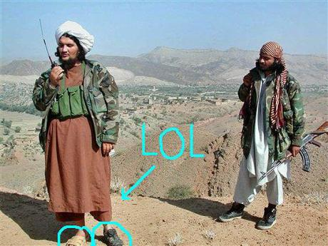 Taliban shoe