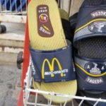 Mc Donalds slippers