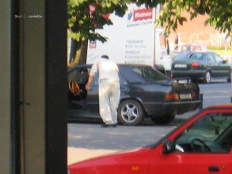 Beggar car
