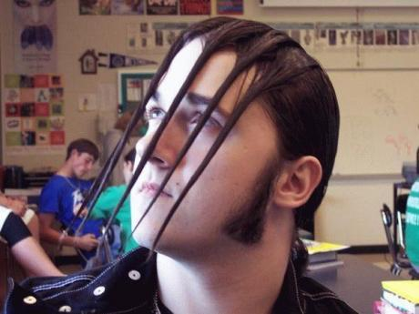 haircute weird
