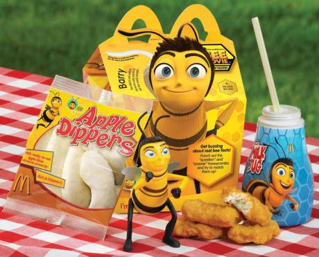 Bee Movie Happy Meals