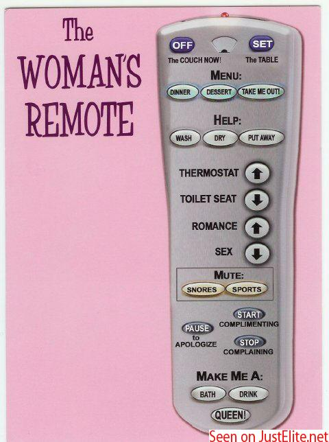 Men Remote for women