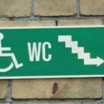 Stairs to WC