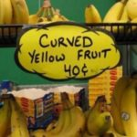 The name of the yellow fruit…