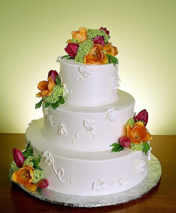 The wedding cake is an important part of the wedding