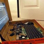 Pizza box Laptop