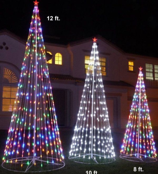 Prelit Artificial Christmas LED