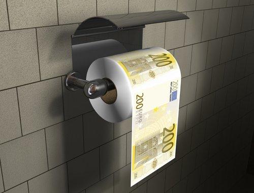 euro paper toilet