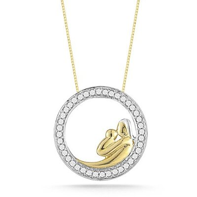 Christmas gifts: 10k Yellow Gold Pendant