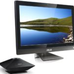 ASUS ET2700 All-in-One with a 10-point touch display