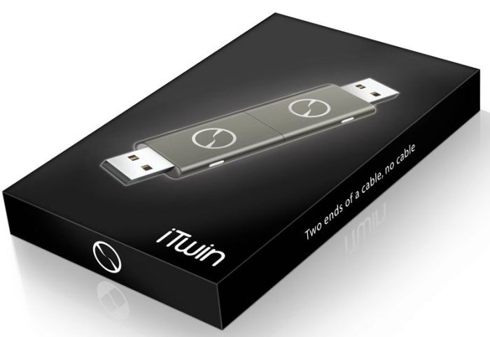 iTwin Gray Remote File Access USB Device