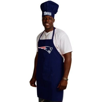 New England Patriots Chef Hat and Apron Set
