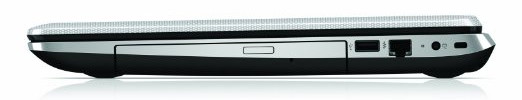 HP Pavilion 17-e079nr side view