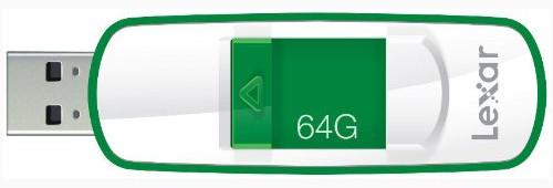 Lexar JumpDrive S73 64GB Flash Drive LJDS73-64GASBNA