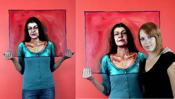 Alexa Meade paints-03