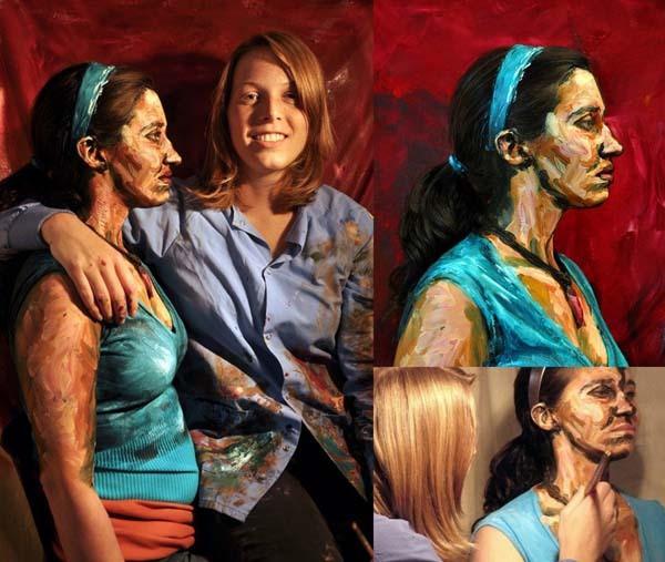 Alexa Meade paints-10