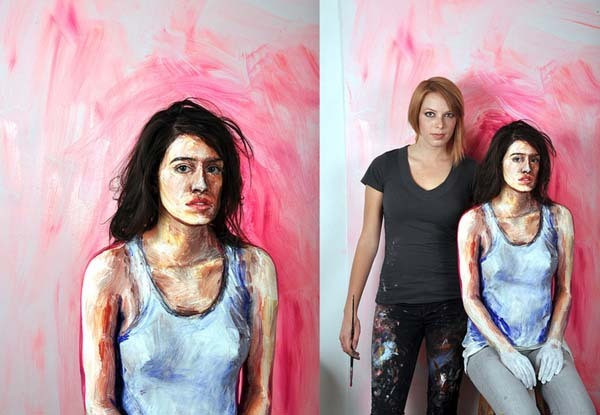Alexa Meade paints-18