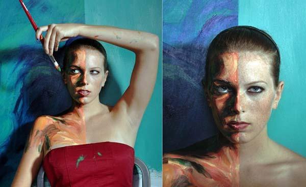 Alexa Meade paints-20