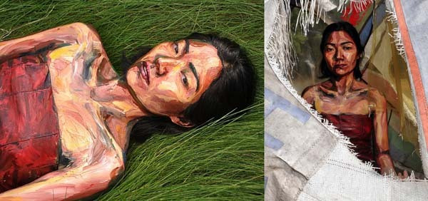 Alexa Meade paints-21