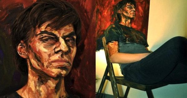 Alexa Meade paints-25