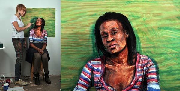 Alexa Meade paints-26
