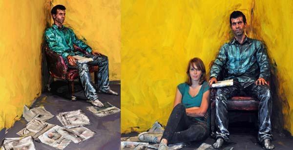 Alexa Meade paints-34