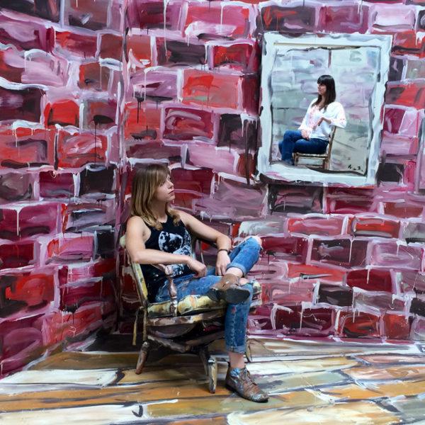 Alexa Meade paints-35