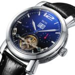 BOS Men's Mechanical Luxury Waterproof Bracelet Watch 9002G