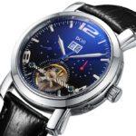 BOS Men's Mechanical Luxury Waterproof Bracelet Watch 9002G