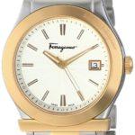 Salvatore Ferragamo Men's FF3070014 FERRAGAMO 1898 Two-Tone Stainless Steel Watch