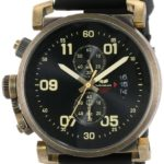 Vestal Men's OBCS001 USS Observer Chrono Black White Lume Watch
