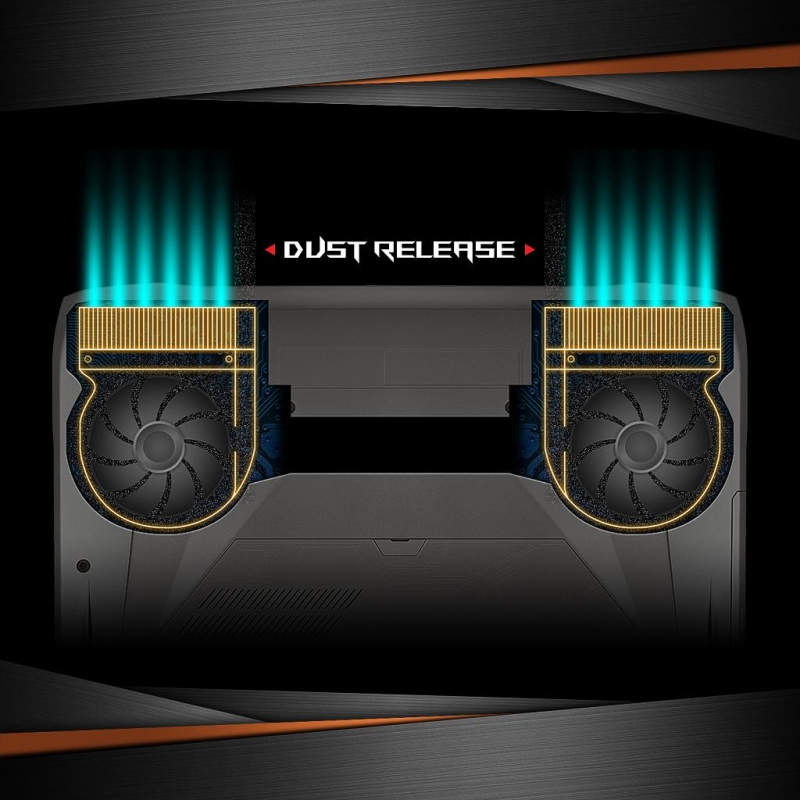 ASUS ROG Efficient Dust-Release Thermal Tunnel
